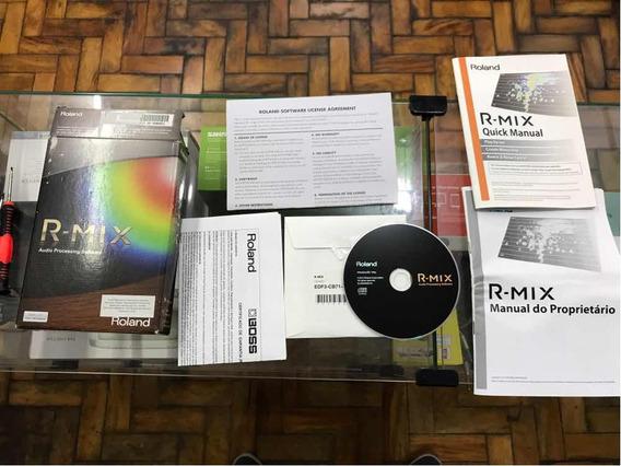 Roland R-mix Software Processamento De Audio Windows E Mac