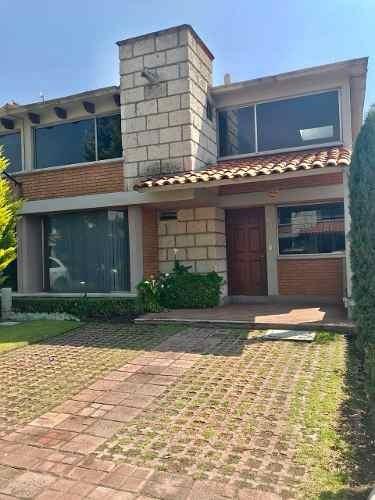 Renta Casa En Residencial Metepec Providencia