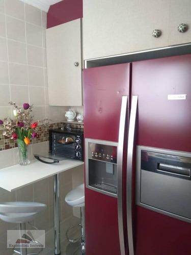 Apartamento Residencial À Venda, Jardim São Luís, Suzano - . - Ap0001
