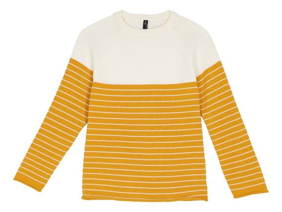 Suéter Pullover Combinación Rayas De Niños C&a 1052652