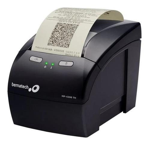 Impressora De Cupom Não Fiscal Bematech Mp 4200th + Bobina