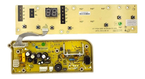 Plaqueta Lavarropas Gafa 7500 6500 6505 Con Display Original