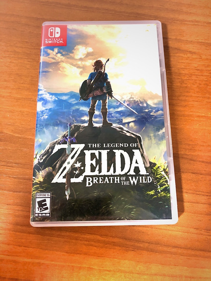 The Legend Of Zelda Breath Of The Wild + Guia Oficial