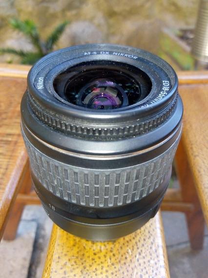 Objetivo Nikon 18 55 F3.5-5.6 G