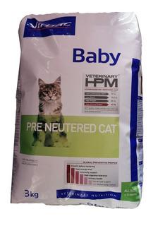 Croquetas Gato Baby 3kg Pre Neutered Cat Virbac