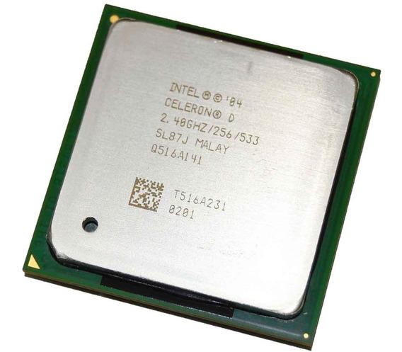 Processador Intel Celeron D320 2.4ghz Fsb533 Socket 478