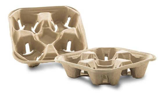Charola Portavasos Con 300 Pz Para Vasos De Café