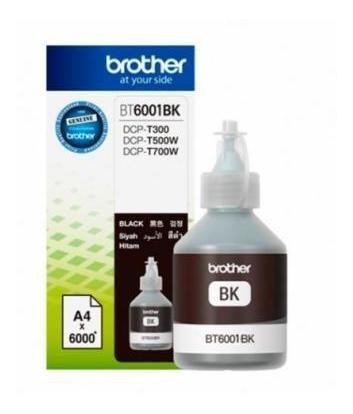 Botella De Tinta Brother Bt6001bk