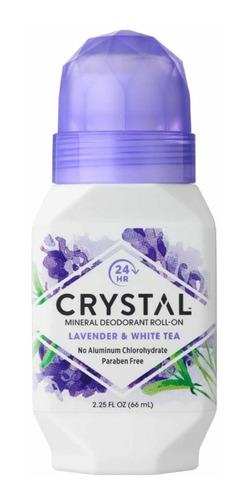 Desodorante Crystal Mineral Roll-on Sem Alumínio E Parabenos