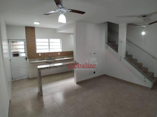 Imagem 1 de 23 de Sobrado Com 2 Dormitórios À Venda, 90 M² Por R$ 279.000,00 - Vila São Jorge - São Vicente/sp - So0045