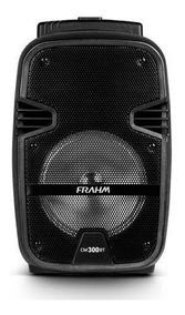 Caixa De Som Frahm Cm 300 300w Com Bluetooth Usb Bateria Int