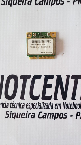 Imagem 1 de 2 de Placa Wifi Ar5b93 Notebook Acer 4553 Envio Por Carta