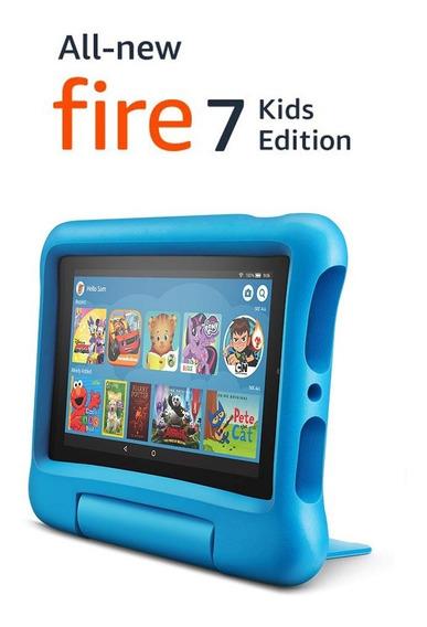 Novo Tablet Amazon Fire 7 Edição Kids Edition, Tela 7 , 16gb