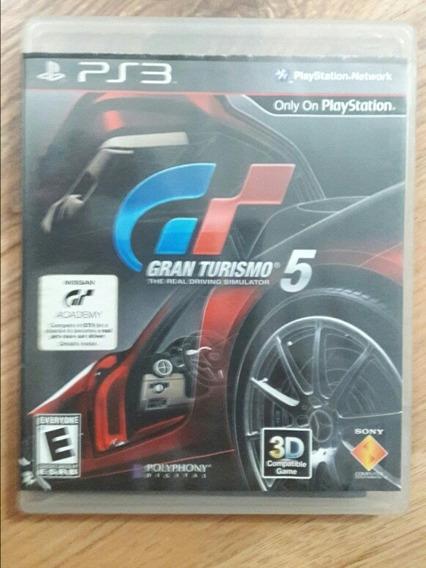 Jogo Gran Turismo 5 Ps3 Original Usado