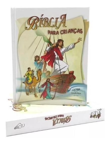 Livro Bíblia Infantil Ilustrada Católica Canção Nova