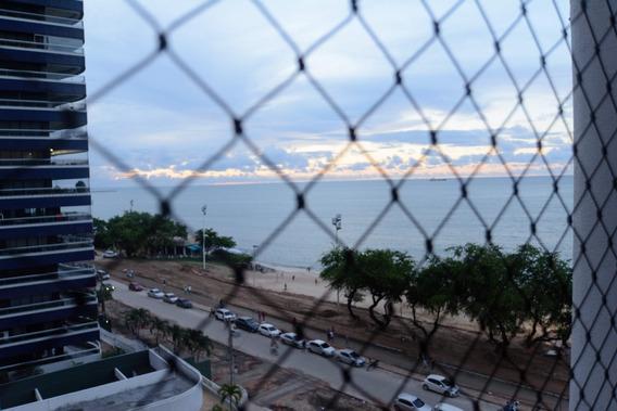 Apartamento Na Beira Mar, 1 Suíte, Sala, Elevador