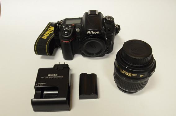 Camera Nikon D7000 + Lente 18-55mm + Carregador + 1 Bateria