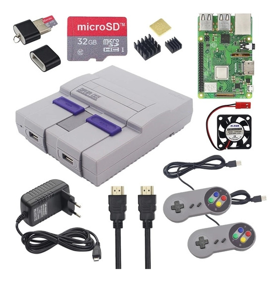 Mini Super Nintendo Retrô + 10.000 Jogos