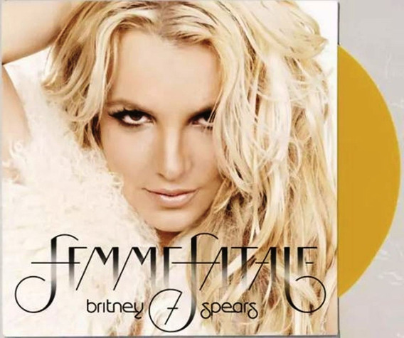 Lp Britney Spears Femme Fatale Lacrado E Pronta Entrega