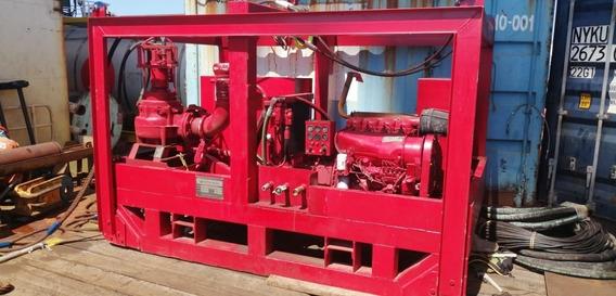 Bomba Hidráulica Sumergible Motor Diésel, 6