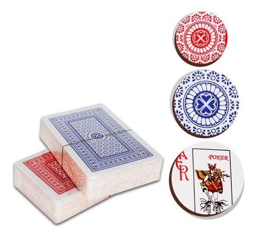 Baralho Duplas Copag Cartas Poker Truco Canasta Profissional