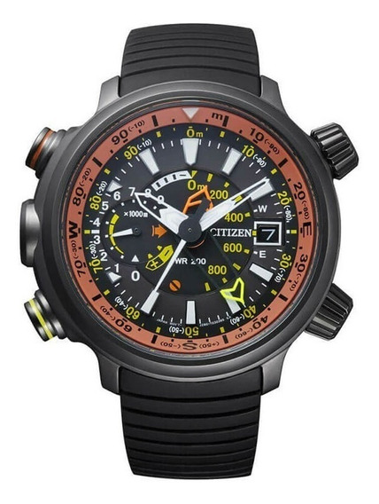 Relógio Citizen Altichron Bn4026-09f Titanium 12 X Sem Juros