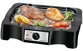 Churrasqueira Elétrica Mondial Pratic Steak & Grill 110v