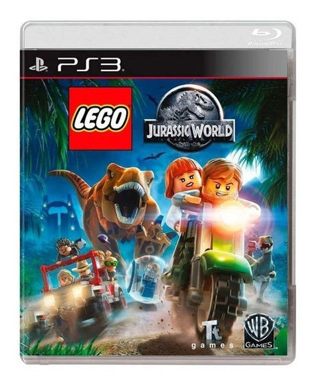 Lego Jurassic World - Ps3 - Original - Mídia Física - Usado