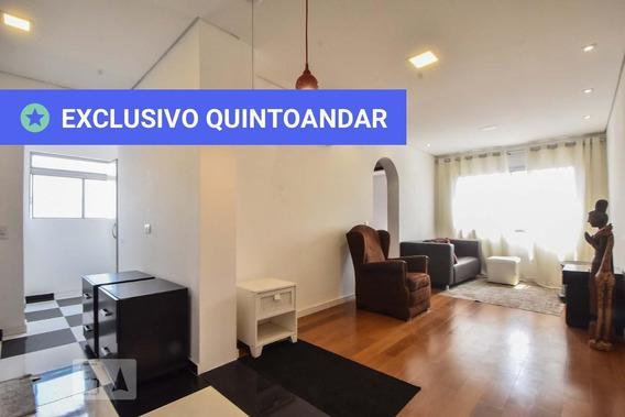 Apartamento No 10º Andar Mobiliado Com 2 Dormitórios E 1 Garagem - Id: 892985455 - 285455