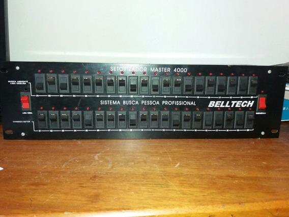 Setorizador De Audio Master 4000 - Belltech