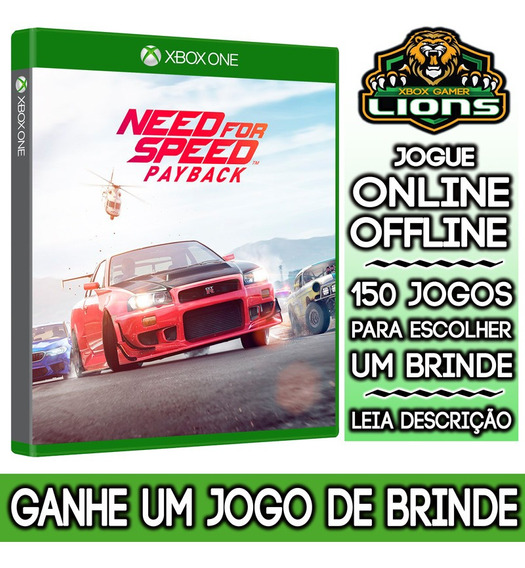 Need For Speed Payback Xbox One + Brinde