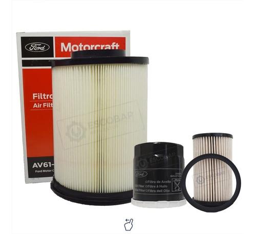 Imagen 1 de 9 de Kit Filtros Aceite + Aire + Combust Ford Focus Diesel 1.8