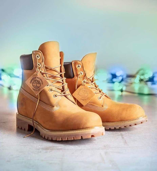 Borcego Timberland Waterproof Af 6in Prem Bt Wheat Yellow