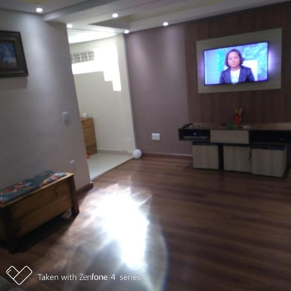 Linda Casa Com 3 Dormitórios + Edícula Centro De Várzea Pta