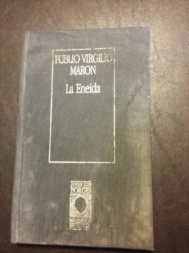 Imagen 1 de 3 de Eneida Publio Virgilio Maron Biblioteca Borges Prosa Regular