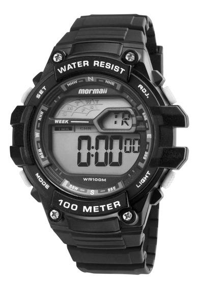 Relógio Mormaii Masculino Preto Redondo - Mo3480a/8k