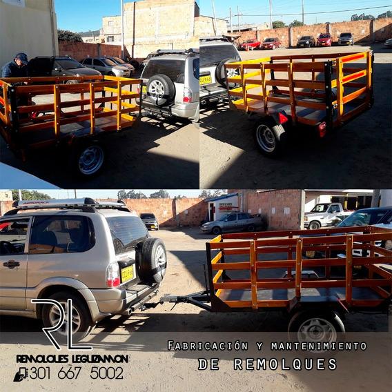 Remolque Para Automóvil Y Motocicleta, Venta Y Reparación.