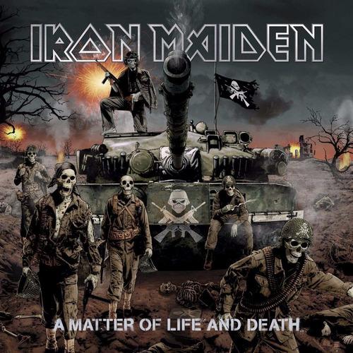 Imagen 1 de 3 de Iron Maiden A Matter Of Life And Death  Vinilo Doble Nuevo