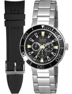 Relógio Dumont Rotor Troca Pulseiras Du6p29abw/3p - Pulseira