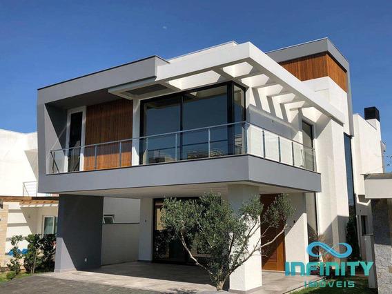 Casa De Condomínio Com 4 Dorms, Alphaville, Gravataí - R$ 1.79 Mi, Cod: 376 - V376