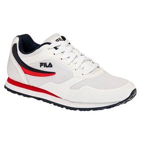 Tenis Sneaker Fila Forerunner Niños Textil Blanco K58588 Dtt