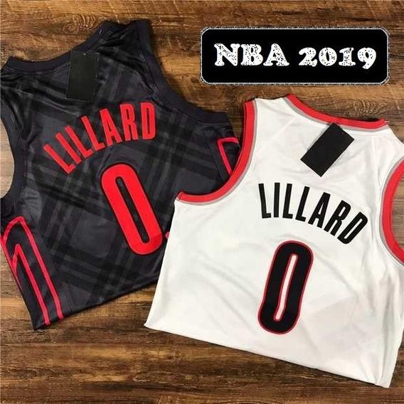 Damian Lillard #0 Portland New Temp 19 - A Pedido