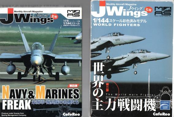 Lote Duas Naves Jwings Escala 1:144 - Bonellihq F19