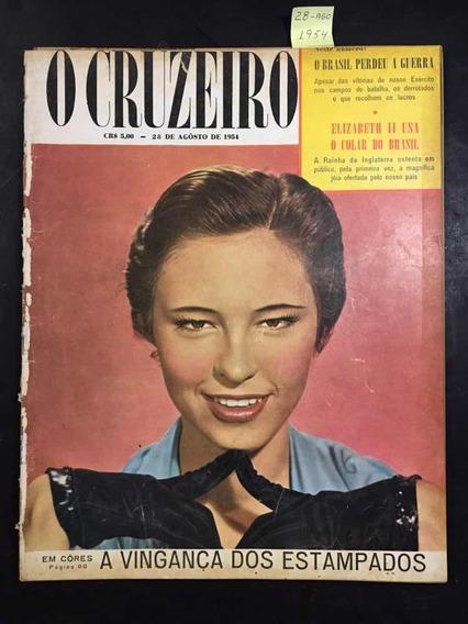 O Cruzeiro N°47 - A Vingança Dos Estampados- 28/08/1954