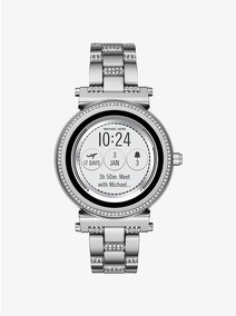 Relógio Smartwatch Michael Kors Access Sofie Mkt5036 Prata