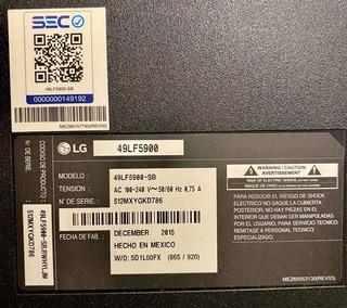 Tv Lcd LG 49lf5900sb
