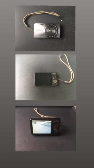Máquina Fotográfica Sony + Cartão De Memória 8gb + Case