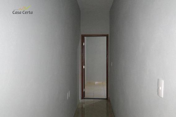 Casa Com 2 Dormitórios À Venda, 76 M² Por R$ 155.000 - Jardim Suécia - Mogi Guaçu/sp - Ca1442
