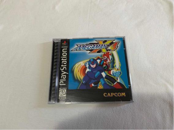Mega Man X4 Ps1 Completo Original Americano
