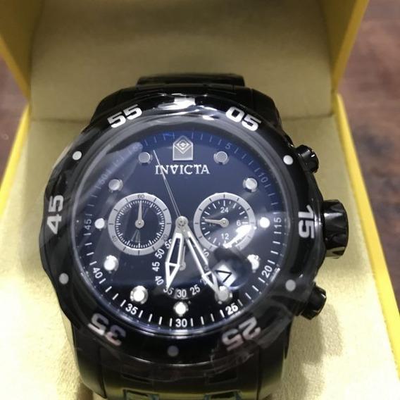 Relógio Invicta Pro Diver 0076 Preto Masculino Original